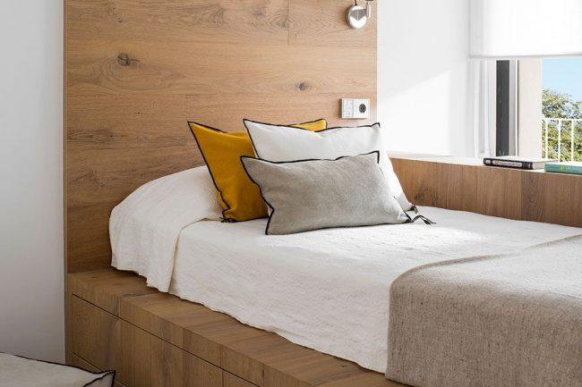 cama habitacion pequeña